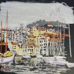 Vieux port - pastel sec